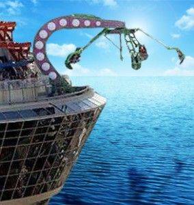 Checkout Some Other Ideas For Future Cruise Ships For Future - Roller coaster on a cruise ship