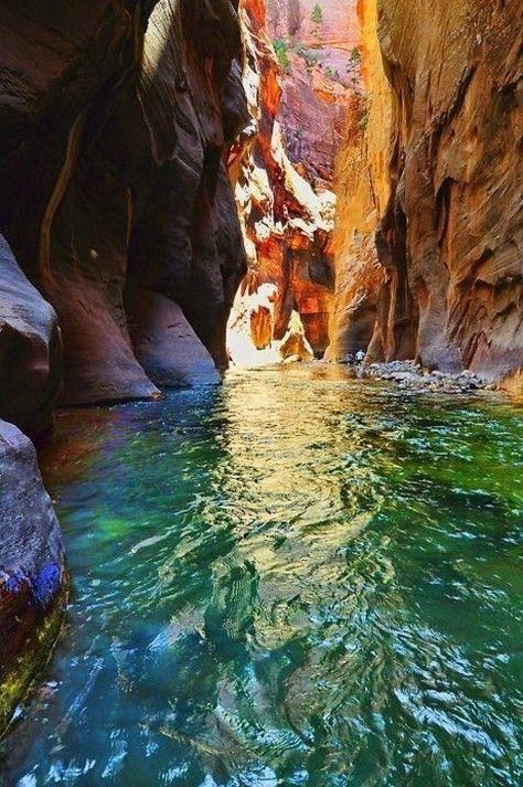 Virgin River in Zion National Park, Utah, USA repin & like. listen to Noelito Flow songs. Noel. https://www.twitter.com/noelitoflow