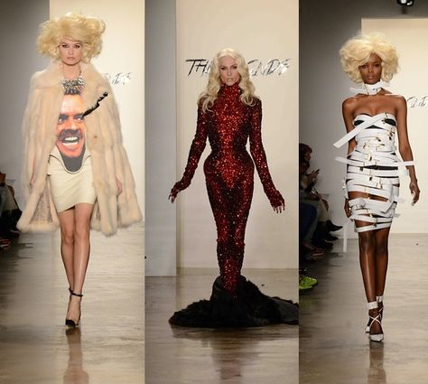 The thing I love about the Blonds, is that they are so unpredictable. We never know whats up for next collection except their beautiful corsets, that they are known for especially among celebrities as Beyonce, Britney Spears and Katy Perry.