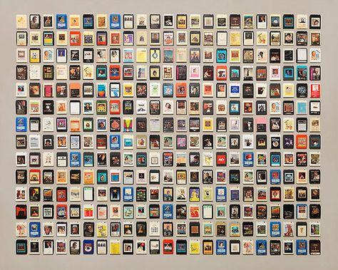 Cassette tape art by Jim Golden