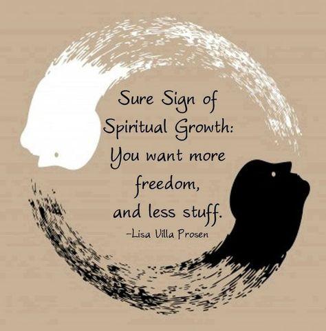 Less Stuff, More Abundance