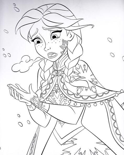 frozen ausmalbilder malvorlagen zeichnung druckbare nº 64