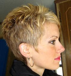 For when my hair starts to grow back in. Like this. [