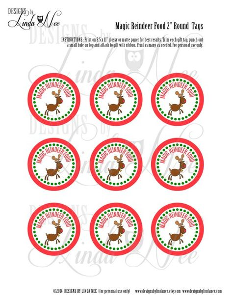 photograph relating to Printable Reindeer Food Tags identify Record of Pinterest rudolph printable reindeer foods pics