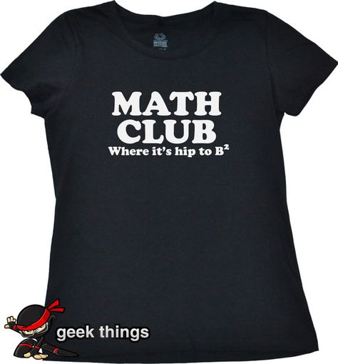 Ladies Math T-Shirt by UnicornTees, $14.99