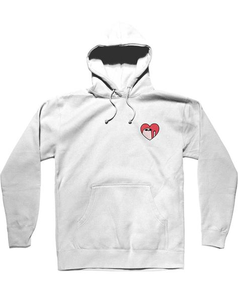 ee0019b11 Kind Comments Heart - White Hoodie in 2019 | want
