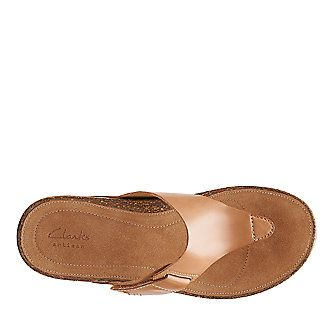 79bc8f75d434 Clarks Temira West Thong Sandals (FootSmart.com)