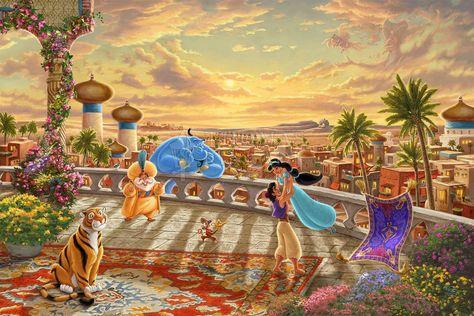 Jasmine Dancing in the Desert Sunset - Limited Edition - 12 x 18 / SN-Unframed