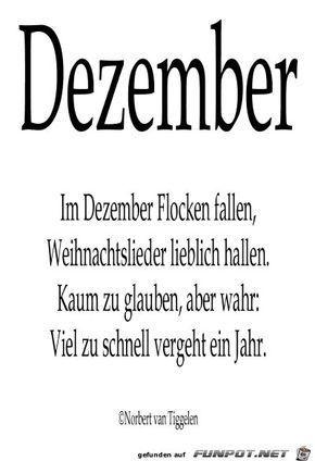 Dezember Dezember Gedicht Weihnachten Weihnachtsspruche Vers Weihnachten