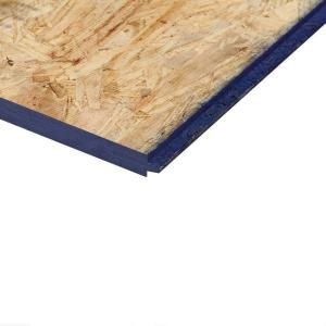23 32 In X 4 Ft X 8 Ft Southern Pine Tongue And Groove Oriented Strand Board 1365931 The Home Depot Oriented Strand Board Strand Board Home Depot
