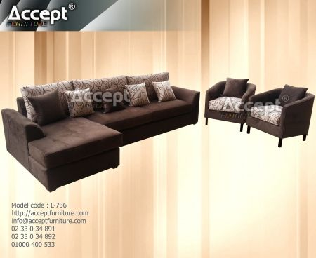 Accept Furniture أكسبت فرنتشر للأثاث الراقي Living Decor Furniture Home Decor