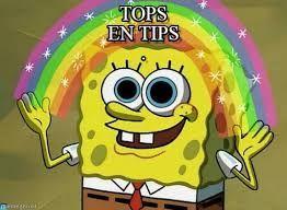 Afbeeldingsresultaat Voor Tips En Tops Imagination Spongebob Spongebob Meme Spongebob Memes