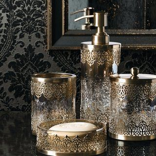 Moroccan Bathroom Decor, Moroccan Bathroom Accessories
