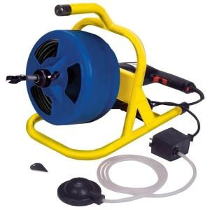 Theworks 1 2 In X 50 Ft Compact Drain Cleaner Machine Pl171202 Cable Drum Drum Machine Drain Openers