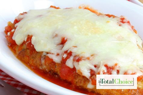 Total Choice Chicken Parmesan: Lighten up a classic dish with this recipe. Eat this recipe on the Total Choice 1200-calorie plan.