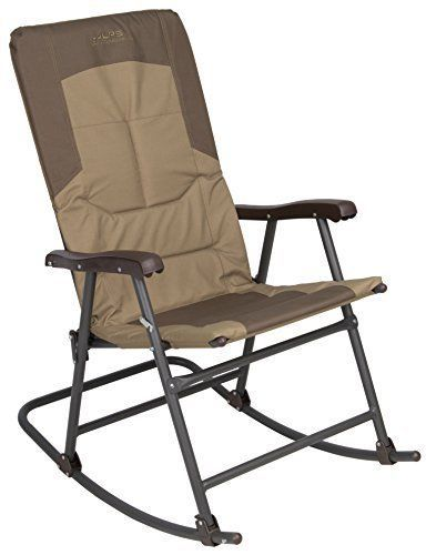Patio Furniture For Over 300 Lbs.Outdoor Rocking Chair Folding Travel Camping Steel Frame Patio
