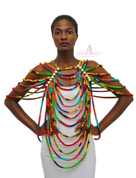 APHIA SAKYI - african fashion and accessories shop - African Accessories, African Necklace, Fashion Accessories, African Jewelry