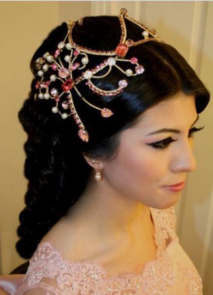 Kina Gecesi Sac Modelleri Braut Pakistanische Braut Indische Braut