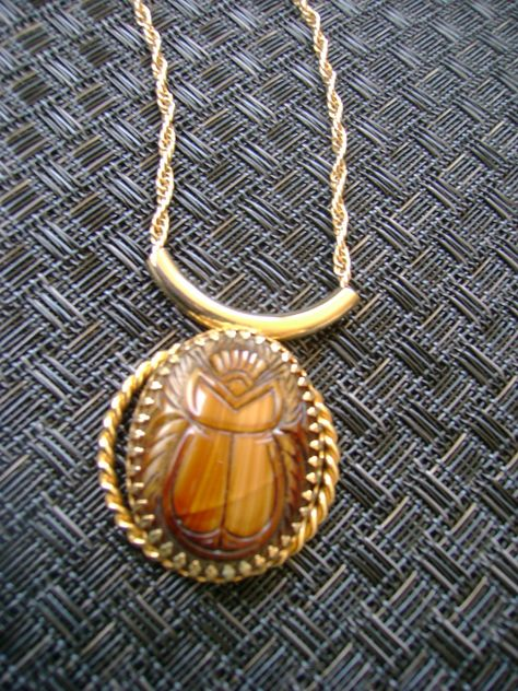 Vintage Egyptian Necklace 1970 - just listed!
