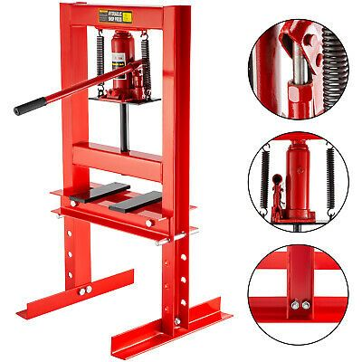 Ad Ebay Link Hydraulic Shop Press Floor Shop Equipment 6ton Jack Stand H Frame Red Hydraulic Shop Press Shop Press H Frame