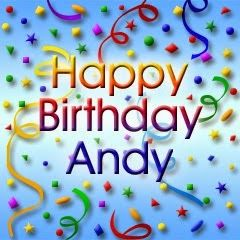Image result for Happy birthday andy images