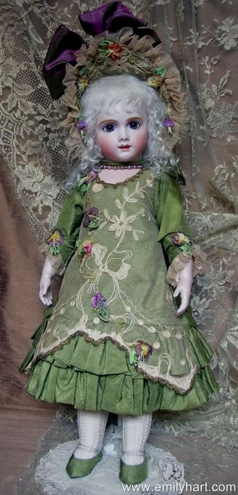 Beautiful Reproduction Dress for 18 /'/' Antique Doll #3