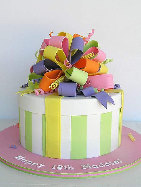 present cake...cute!
