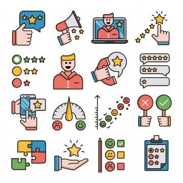 Feedback Filled Outline Icons Set Appreciations Clipboard Survey Customer Satisfaction Survey Png And Vector With Transparent Background For Free Download Icon Set Free Icon Set Icon Collection