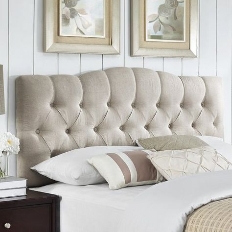 Found it at Wayfair - Cleveland Upholstered Panel Headboard