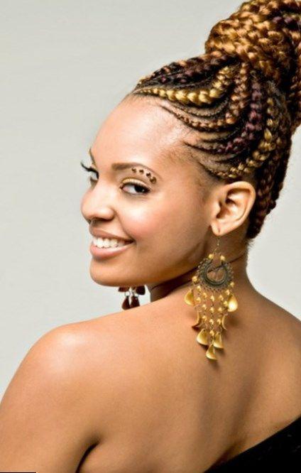 26++ Coiffure mariage tresse africaine des idees