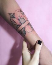 Colourful Floral Tattoos Fitted into Geometric Shapes – crazyforus