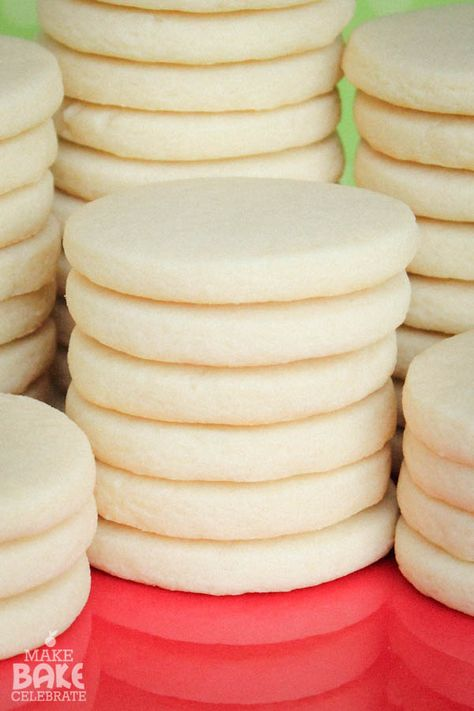 Best Sugar Cookies 3 cups flour (do not firmly pack) 1 tsp. baking powder 1 cup unsalted butter 1 cup sugar 1 large egg 1 tsp. vanilla extract (I use clear)