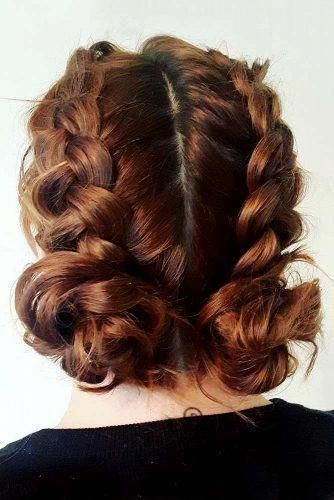 Low Buns With Double Dutch Braids Picture 2 Dutchbraided Hair Styles Braided Hairstyles Long Hair Styles