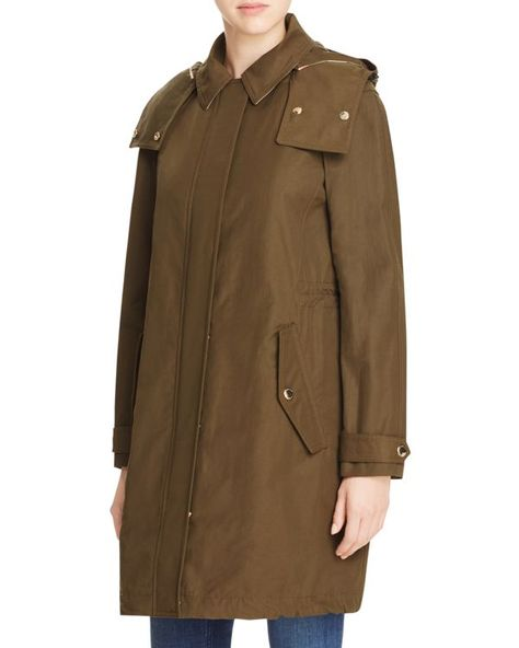 474bde30f Burberry Harlington Hooded Coat