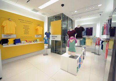 Pantone concept Store | Retail | Pinterest | Pantone