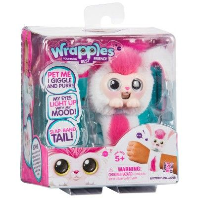 Little Live Wrapples White Pink Shylo Cute Squishies Bonnie