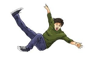 How To Draw A Person Falling Hi Everyone You Can Follow This Step By Step Drawing Tutorial How To Draw A Person Person Falling Drawing People Running Drawing