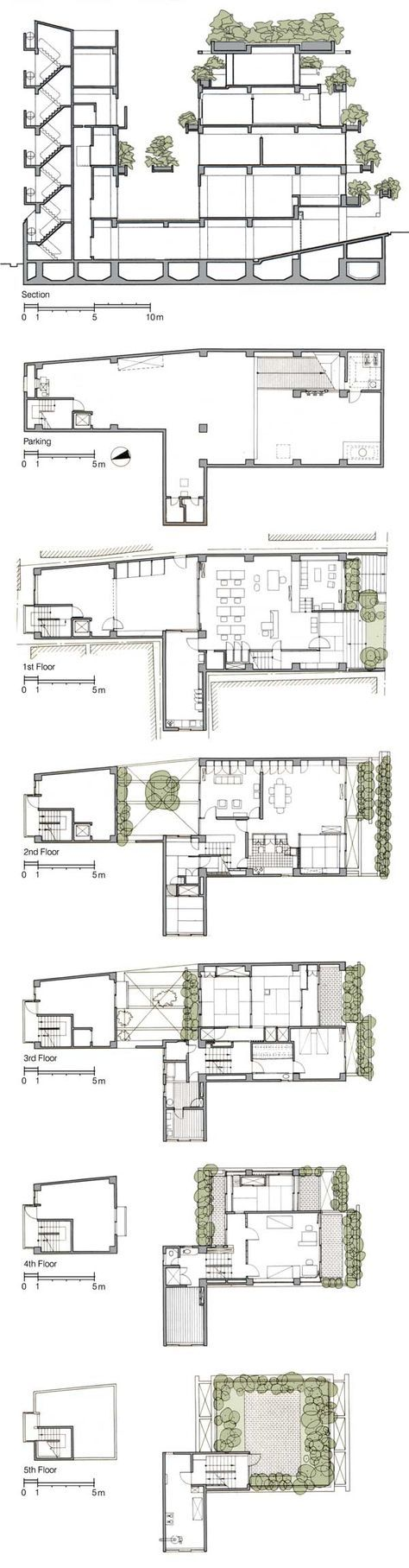 New House Drawing Architecture Floor Plans Ideas Floor Plans Tadao Ando How To Plan