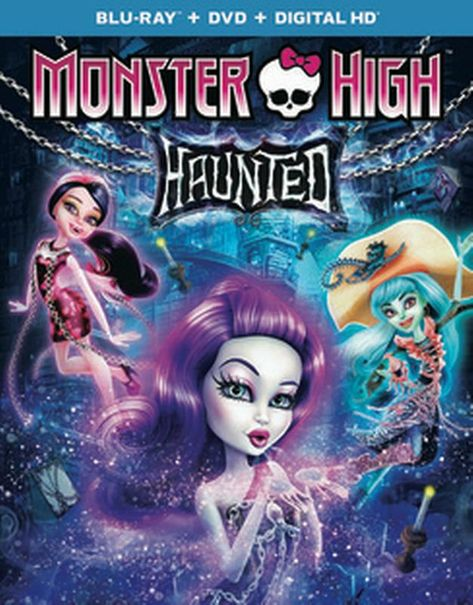 Monster High Haunted Blu Ray High Monster Haunted Monster