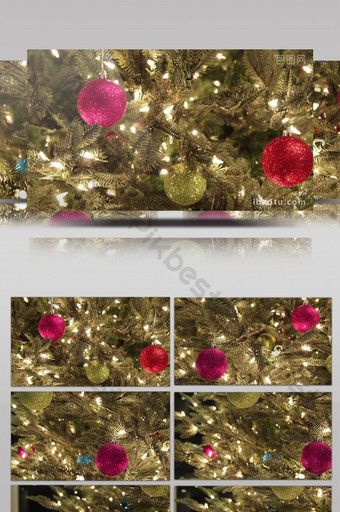 Beautiful And Beautiful Christmas Decoration Gift Video Video Mp4 Free Download Pikbest Christmas Gift Decorations Beautiful Christmas Decorations Beautiful Christmas