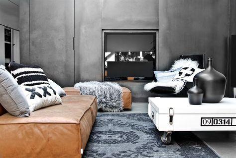 Woonkamer Ideeen Zwart.Hklving Industrieel Vintage Kleur Decoratie Woonaccessoires