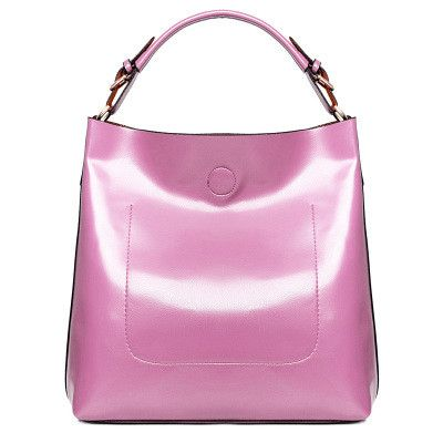 Women Leather Casual Shoulder Bag Bright Surface Luxury Designer Handbags High Quality Famous Brand Las Sac Hand Bags