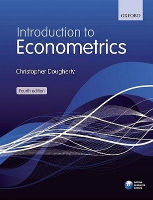 Pdf Download Introduction To Econometrics By Christopher Dougherty Free Epub Universidad De La Laguna Biblioteca Lagunas