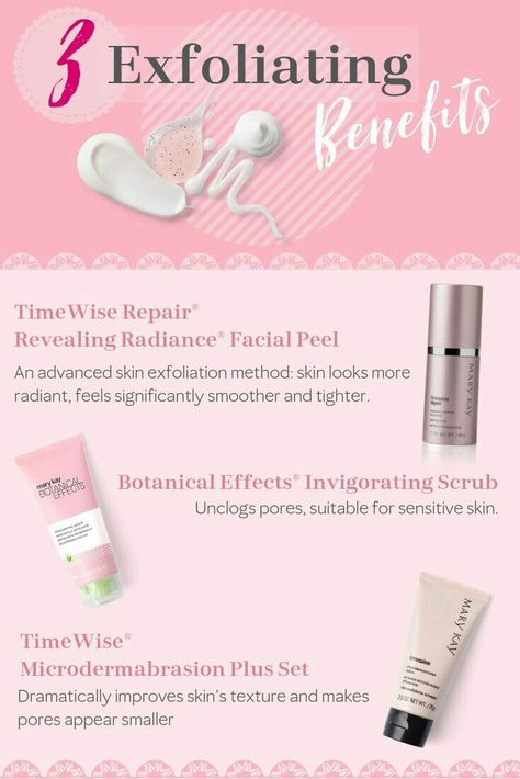 Exfoliating with Mary Kay