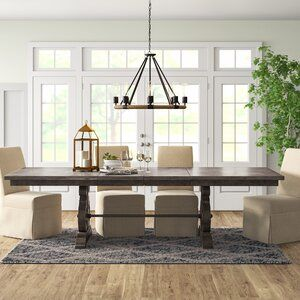Harris Kitchen Island With Granite Top Reviews Birch Lane In 2020 Dining Table Extendable Dining Table Traditional Dining Tables