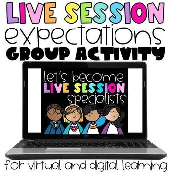 Live Session Expectation Specialists Activity In 2020 Teacher Created Resources Teacher Help School Bundles