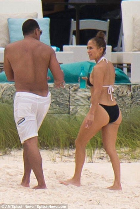 Jennifer Lopez, puts fit figure on display in skimpy bikini She's been out on the beach almost every day for a week. And Jennifer Lopez was at it again on Friday, as her birthday celebration continued.