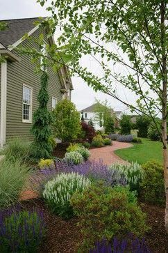 Pin By Connie Mcleod On Landscaping Ideas Traditional Landscape Landscape Design Landscaping With Rocks