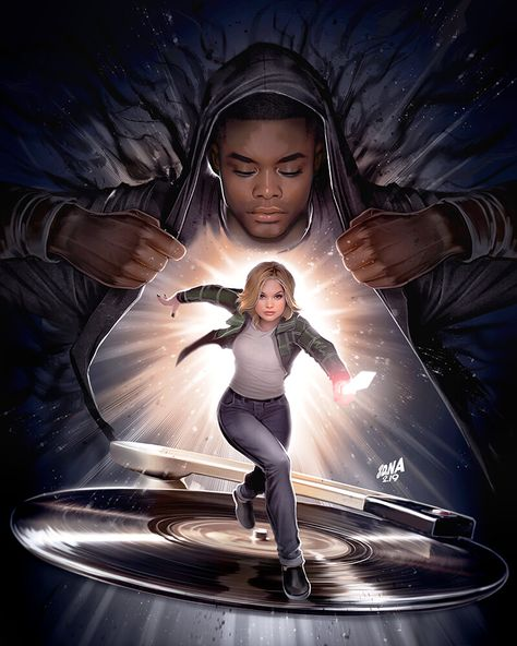 Cloak and Dagger TV Poster, David Nakayama