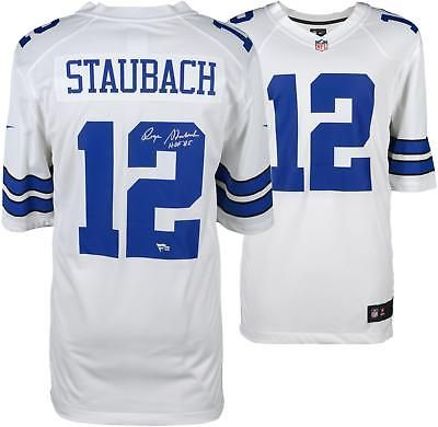 newest collection a2ccb fd208 Autographed Roger Staubach Cowboys Jersey Fanatics Authentic ...